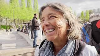 Les associations d'aide aux migrants en grève (9 avril 2019, Paris)