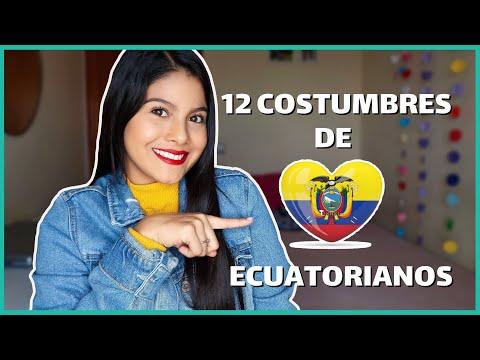12 COSTUMBRES DE