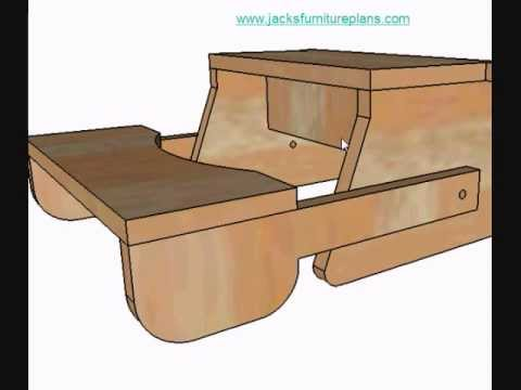 DIY Instructions for Kids Bench Step Stool.wmv - YouTube