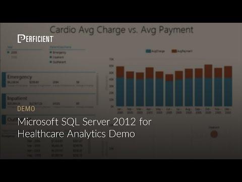 Microsoft SQL Server 2012 for Healthcare Analytics Demo