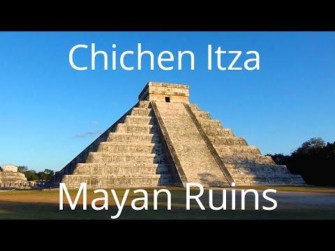 Tour of Chichen Itza Mayan Pyramids, Yucatan, Mexico