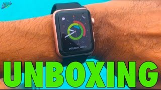 Unboxing Apple Watch Series 2- 42mm Rose Gold All Black Sport Band