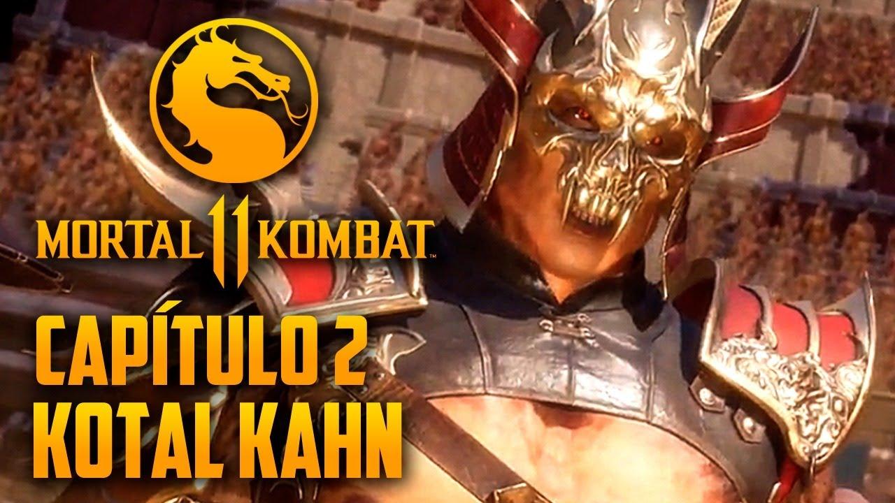 Mortal Kombat 11 Capitulo 02 - SHAO KHAN está de volta (PT-BR PS4 PRO)