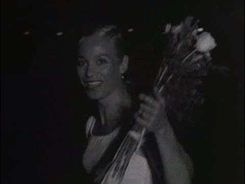 Ingrid Thulin Arrives At Bromma Airport 1958