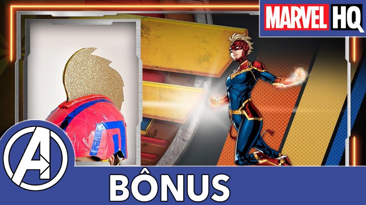 Força Mech | Capacete Capitão Marvel