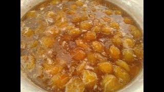 Варенье из желтой сливы без косточек на зиму простой рецепт