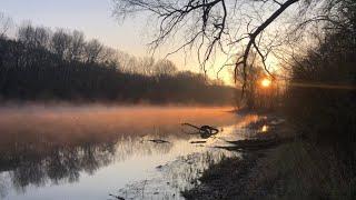 Рыбалка на фидер в конце апреля Река Северский донец