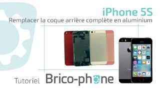 Tuto iPhone 5S : changer la coque arrière complète en aluminium Démontage remontage HD