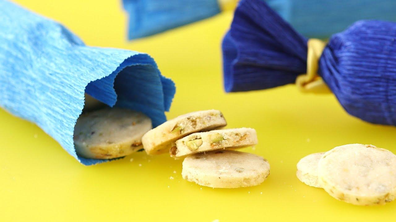 Crepe Paper Cookie Packaging Martha Stewart