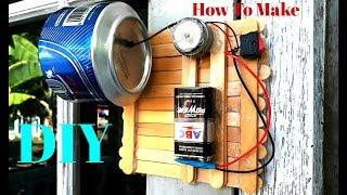 Cara Mudah Membuat Bel Rumah, Dari Kaleng Bekas ( DIY )