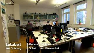 Projekter Industrial Design in der WDR Lokalzeit