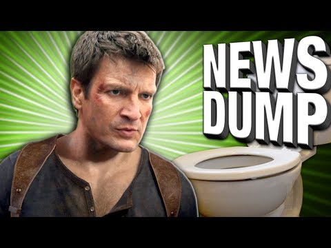 Uncharted Movie With Nathan Fillion HAPPENING?   Dump