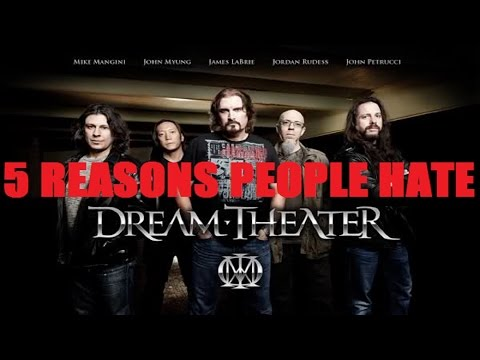 5 Reasons People Hate DREAM THEATER