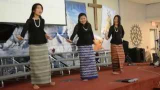 kar dai si toh to the cross myanmar gospel dance