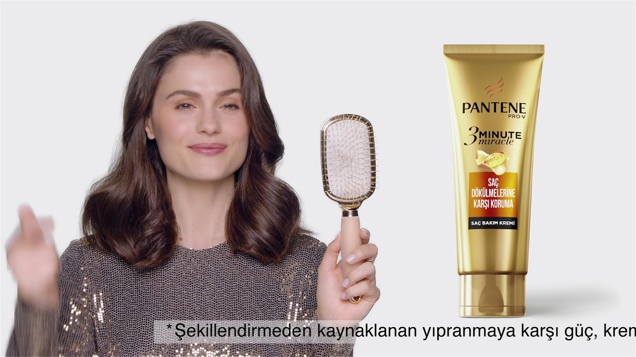 Elektriklenen Saçlar   Pantene 7/24 Yoğun Bakım   Isı Kullanmadan Kıvırcık Saç Yapmak Sadece 3 dk 