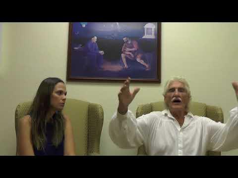 Dr. Morse and Aimee Boglio