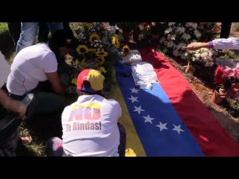 afpes: Piloto rebelde Óscar Pérez enterrado sin aval de famiares