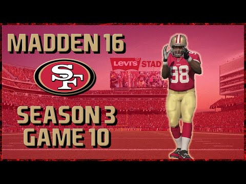 Madden 16 Franchise: San Francisco 49ers | Year 3, Game 10 vs Redskins & Chuck Pagano!!