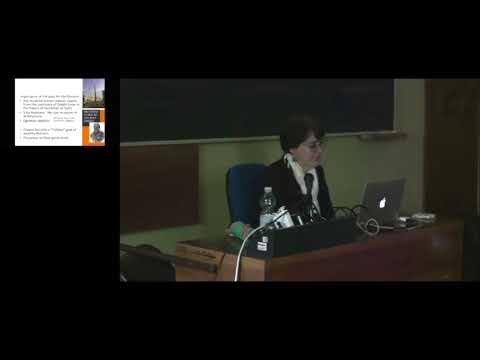 LEZIONE: MARGARITA DIAZ ANDREU Nationalism, Tourism and Global Capitalism  ( 12-5- 2016)