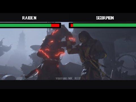Mortal Kombat 11 - Trailer with Health Bars thumbnail