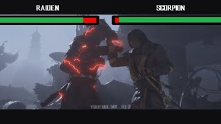 Mortal Kombat 11 - Trailer with Health Bars