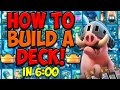 How to Build Your OWN Deck!