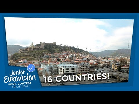 16 COUNTRIES WILL PARTICIPATE AT THE 2017 JUNIOR EUROVISION SONG CONTEST!