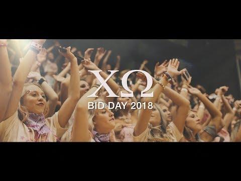 Chi Omega - East Carolina University | Bid Day 2018