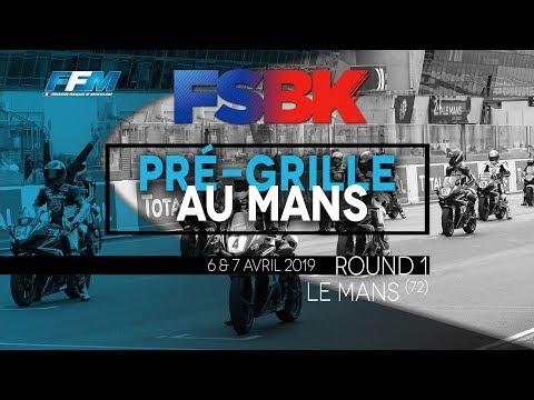 Pré-grille Le Mans