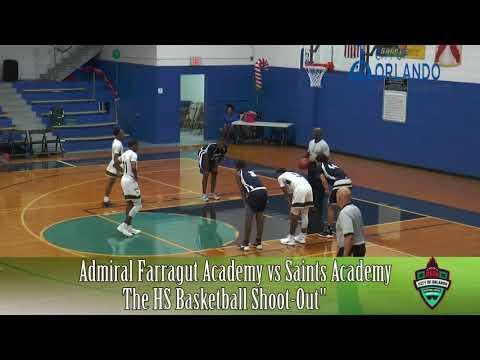 Admiral Farragut Academy VS Saints Academy