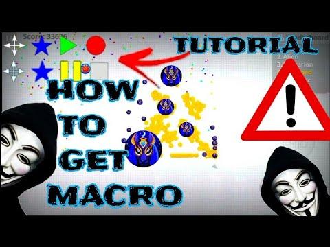 AGARIO MOBILE - HOW TO GET MACRO HACK // TUTORIAL// NEW SKINS // ZOOM HACKED . #X5K