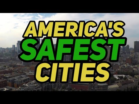 The 10 SAFEST CITIES In AMERICA