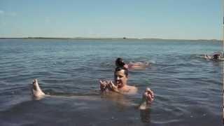 Озеро Сульфатное (Шамиля) Мёртвое море отдыхает(, 2012-07-24T01:31:24.000Z)