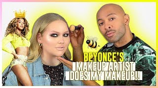 beyonces makeup artist does my makeup  ft sir john