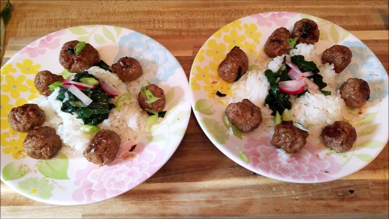Blue apron meatballs - Blue Apron Soy Glazed Meatballs