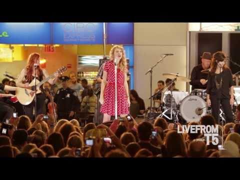 JetBlue - Taylor Swift Live from T5 - HD