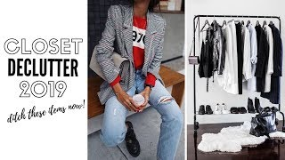 Top 10 Things You Don't Need In Your Closet in 2019 - Decluttering!