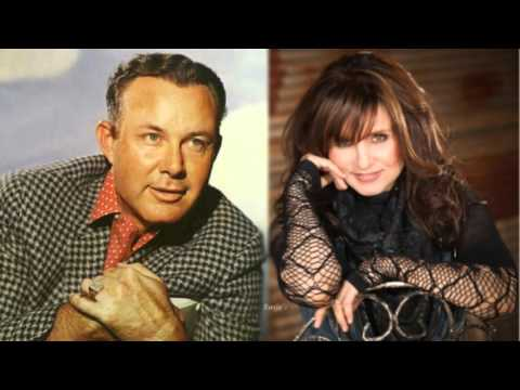 "Jim Reeves & Deborah Allen  ~ ""Don't Let Me Cross Over"""