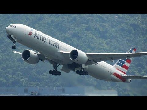 HEAVIES Take off at Hong Kong Airport: A350, A380, B777, B787, B747 etc. [Plane spotting]