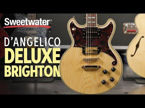 D'Angelico Deluxe Brighton Electric Guitar Playthrough