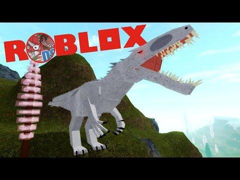 Roblox (Dinosaur Simulator) #1 | Indominus Rex, Albino Terror, Caçador RARO | (PT/BR)