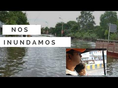 Nos Inundamos - Vivir en la India Vlogs