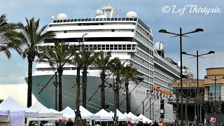 [HD] Cruise Ship MSC Musica at Brindisi port, Italy [Full Video - Read the description]