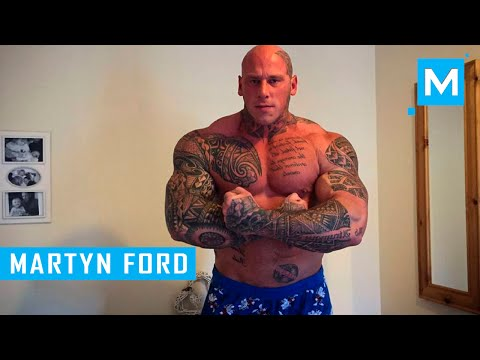 martyn ford training for undisputed ivboyka  muscle madness