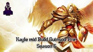 Kayle Build con Guinsoo   Pre-Season 6   League of Leguends   La Guinsoo Esta Rotisima !!!