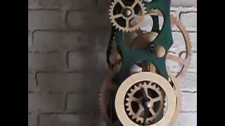 Wooden Gear Clock