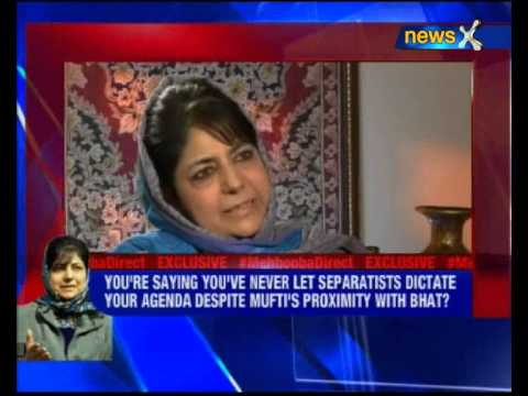 Exclusive interview with Mehbooba Mufti