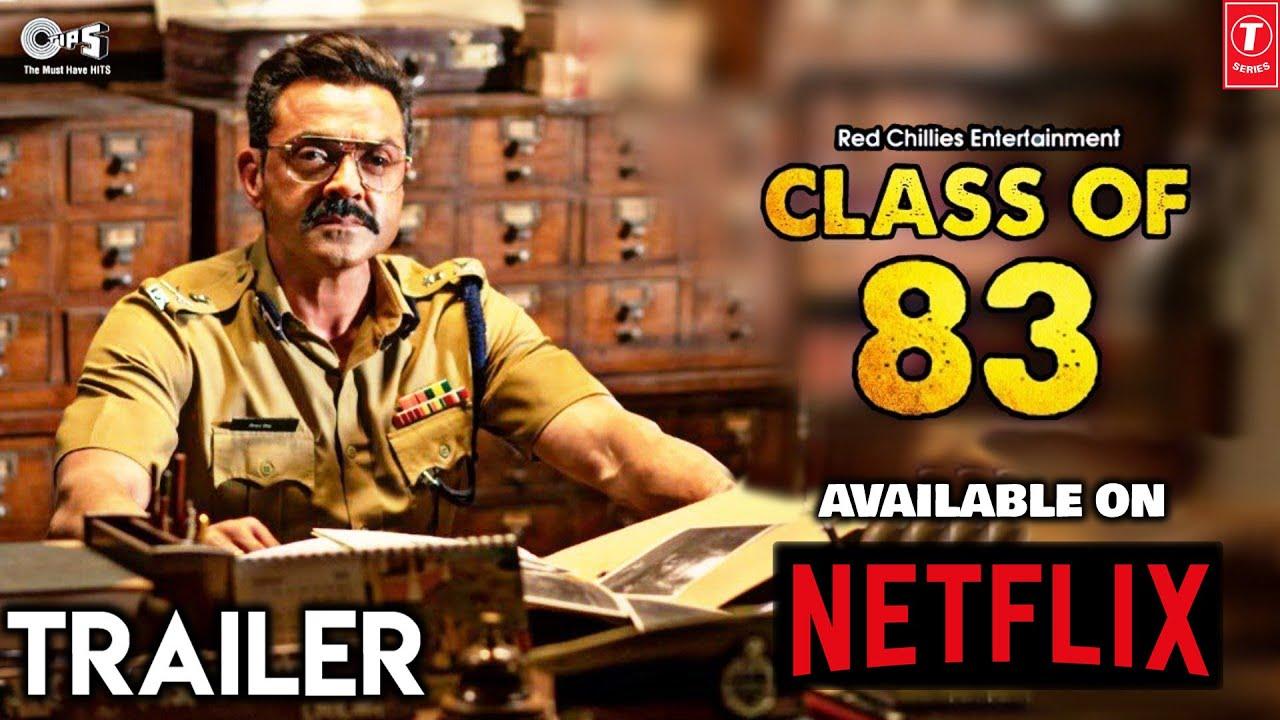 Class Of 83 Movie   Bobby Deol   Atul Sabharwal   Shah Rukh Khan   Available on Netflix