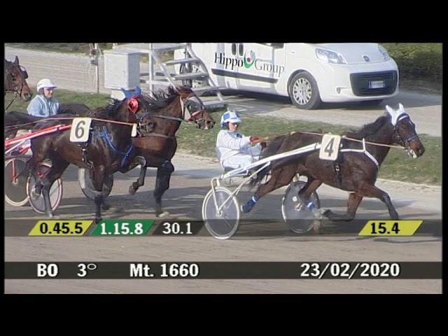 2020 02 23 | Corsa 3 | Metri 1660 | Premio Sfrappole