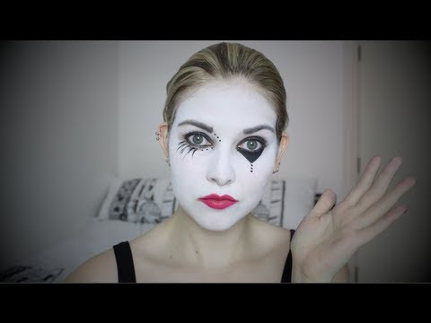 Cute Mime Makeup Halloween Mime Make Up